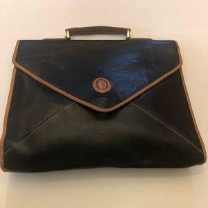 Elegant Trussardi smaller document briefcase